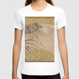 Shibata Zeshin - Flowers And Leaves - Digital Remastered Edition T-shirt