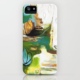 """Rise Above"" Original Painting by Flora Bowley iPhone Case"