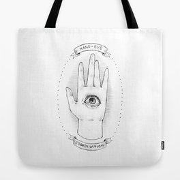 Hand-Eye Coordination Tote Bag