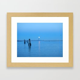 tramonti_veneziani Framed Art Print