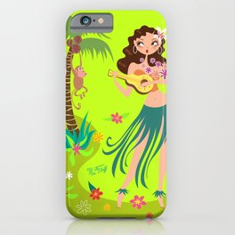 Hula Honey iPhone Case