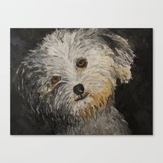 Because Dogs are Cute Canvas Print