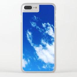 Angel cloud Clear iPhone Case