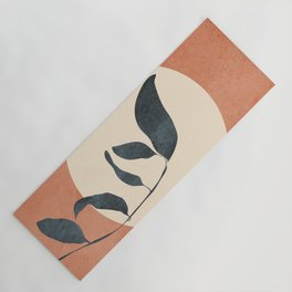 Summer Leaves Yoga Mat