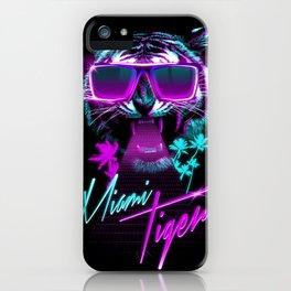 Miami Tiger iPhone Case