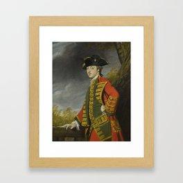 Sir Joshua Reynolds, P.R.A. PLYMPTON, DEVON 1723 - 1792   PORTRAIT OF SIR GERARD NAPIER, 6TH BT. (17 Framed Art Print