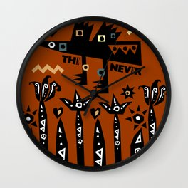 The never Wall Clock