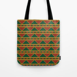 Africa-inspired pattern Tote Bag