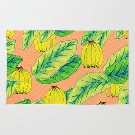 Banana Jungle - Peach Rug