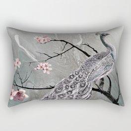 Spade's Peacock Rectangular Pillow