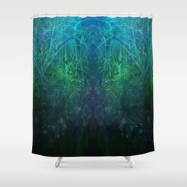 Abstract Fantasy Woods V3 Shower Curtain