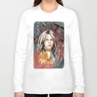 bill Long Sleeve T-shirts featuring Kill Bill by RJ Artworks