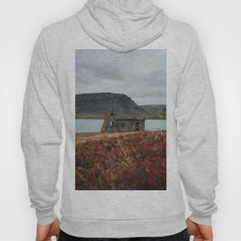 Westfjords Sheep Shed in Iceland Hoody