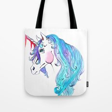 Cabin In the Woods Unicorn Tote Bag
