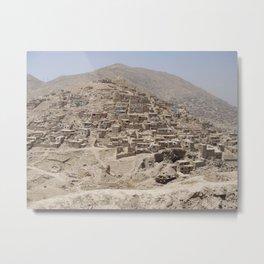 Hill in Kabul Metal Print