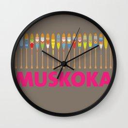 Muskoka for Girls Wall Clock