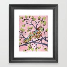 Grandma's Songbird Framed Art Print