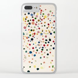 A child's ponder Clear iPhone Case