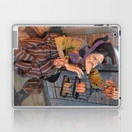 Rucus Studio Maddie the Eccentric Witch Laptop & iPad Skin