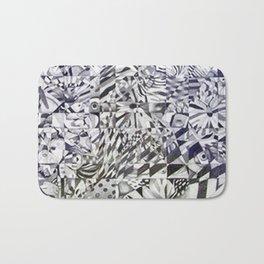 Cubed Butterflies Bath Mat