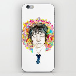Flowering substantial on The Lover   iPhone Skin