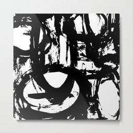 Brushstrokes No.22 by Kathy Morton Stanion Metal Print