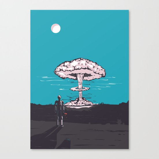 the end & the beginning Canvas Print