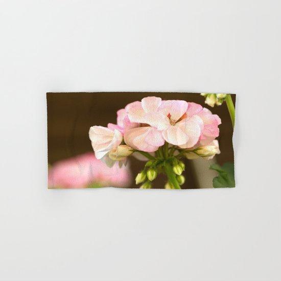 Soft Pink Petals Hand & Bath Towel