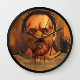 hannibal - the silence of the lambs Wall Clock