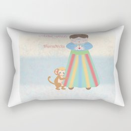 Fuerza Mexico by Mini Frida Rectangular Pillow