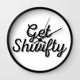 Baesic Get Shwifty (Script) Wall Clock