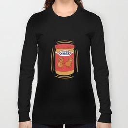 Peanut Butter Vibes - Crunchy Long Sleeve T-shirt