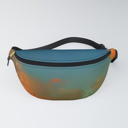 Orange and Blue Skies Fanny Pack