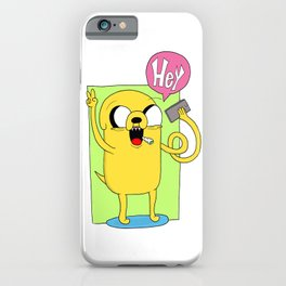 Jake - Hey iPhone Case