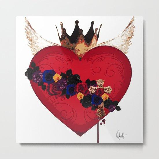 Sacred Heart for Frida Metal Print