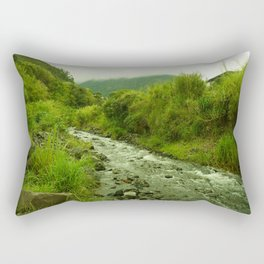 Banos Ecuador Rectangular Pillow
