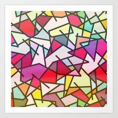 Mix #606 Art Print