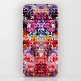 Crystal Floral iPhone Skin
