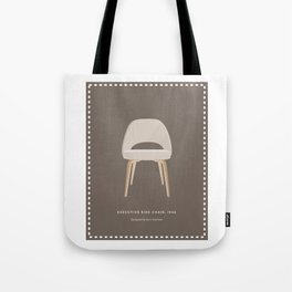 Mid-Century Executive Side Chair Tote Bag