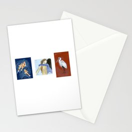 Oil set 1, Admiralty Schoolboy Crushed Stationery Cards