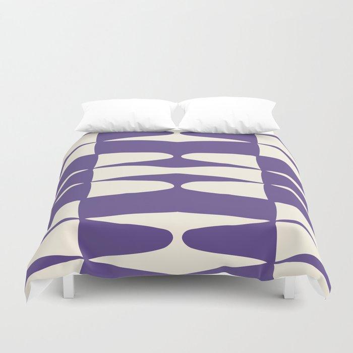 Zaha Ultra Violet Duvet Cover