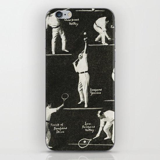 gentlemen prefer tennis iPhone & iPod Skin