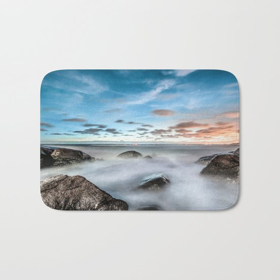 Above the mountines Bath Mat