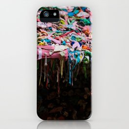 The Gum Wall, Seattle iPhone Case