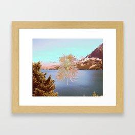 Cannabis Landscape Framed Art Print