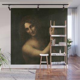 Leonardo da Vinci - Saint John the Baptist Wall Mural