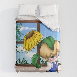 Flower Boy Comforters