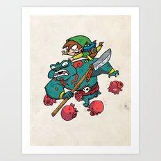 Link's Lament Art Print