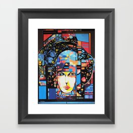 PRIMAVERA 143 (JUNE) Framed Art Print