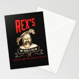 Rex's Main Logo Stationery Cards
